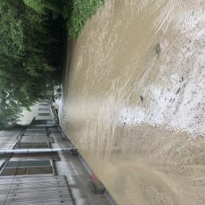 災害時の川