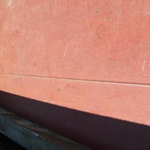 荷台の鋼鈑は連続溶接です。 溶接ビードも揃ってます。